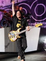 "Goo Goo Dolls bass guitarist Robby Takac said the group is excited about its latest album, ""Boxes,"" which was released in May."