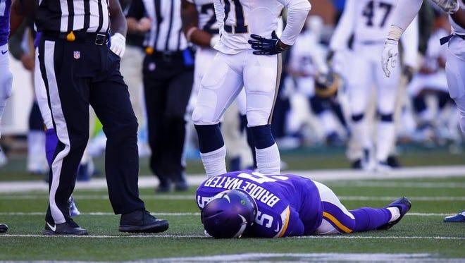 Teddy Bridgewater suffered concussion last season.
