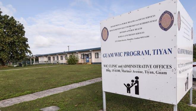 The Women, Infants and Children program office in Tiyan.