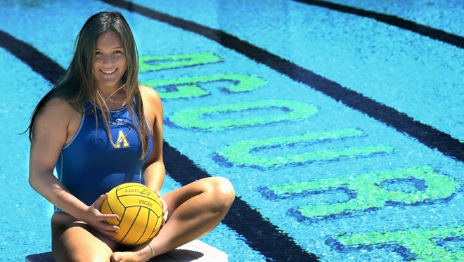Lexi Rond of Agoura High is The Star's Girls Water Polo Player of the Year. The senior's strong play helped Agoura run its Marmonte League win streak to 142 games.