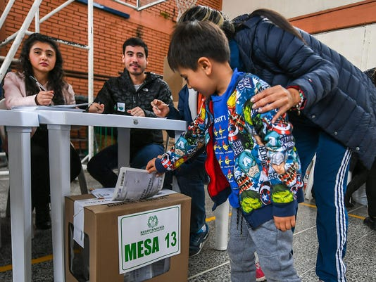 COLOMBIA-ELECTION-VOTE