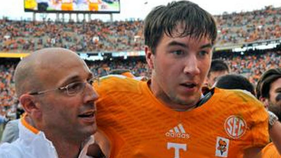 Tennessee offensive coordinator Mike Bajakian is leaving the program, according to multiple media reports.