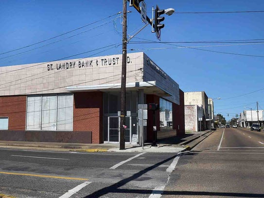 The St. Landry Bank and Trust Co. building that was