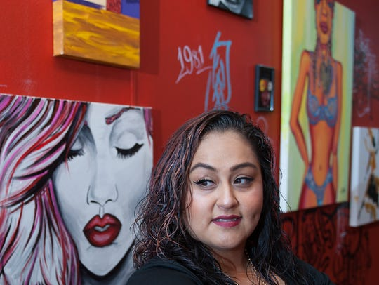 Vanessa Torres, 34, of Absecon, has long loved the City of Vineland. Now she is set to open an art gallery and tattoo studio on Landis Avenue.