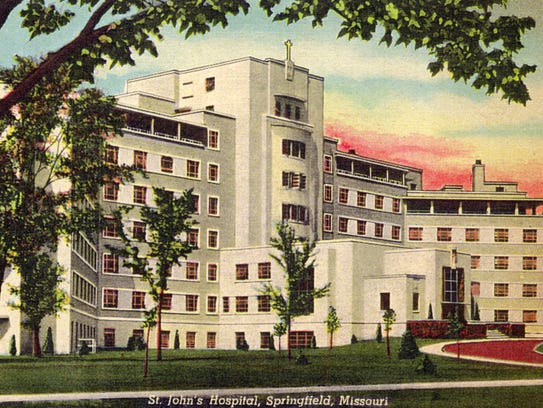 St. John's Hospital, now Mercy Hospital, received a