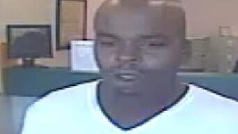 Suspect in bank robbery