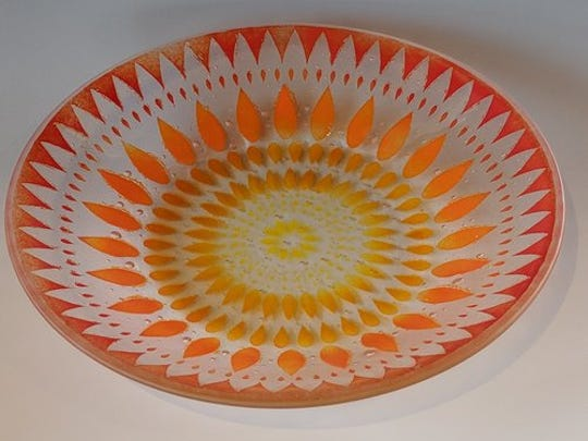 Deborah Christopherson will open her studio for the enthusiast to see the pieces shes creates from glass.