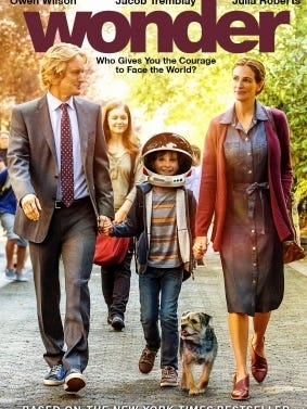 """Half day at school? Party at the library! Play bingo, eat snacks and watch the movie """"Wonder"""" at the Fond du Lac Public Library's Half-Day Party 1 to 3:30 p.m. on Friday. Free. No registration required."""