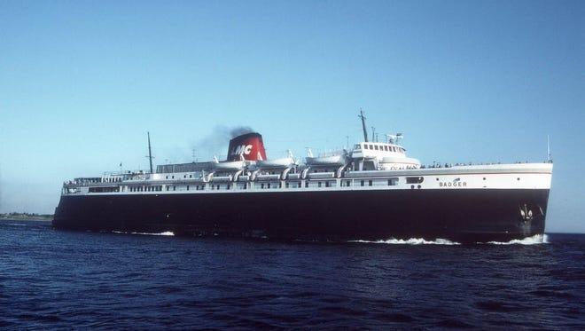 SS Badger, now a National historic landmark.