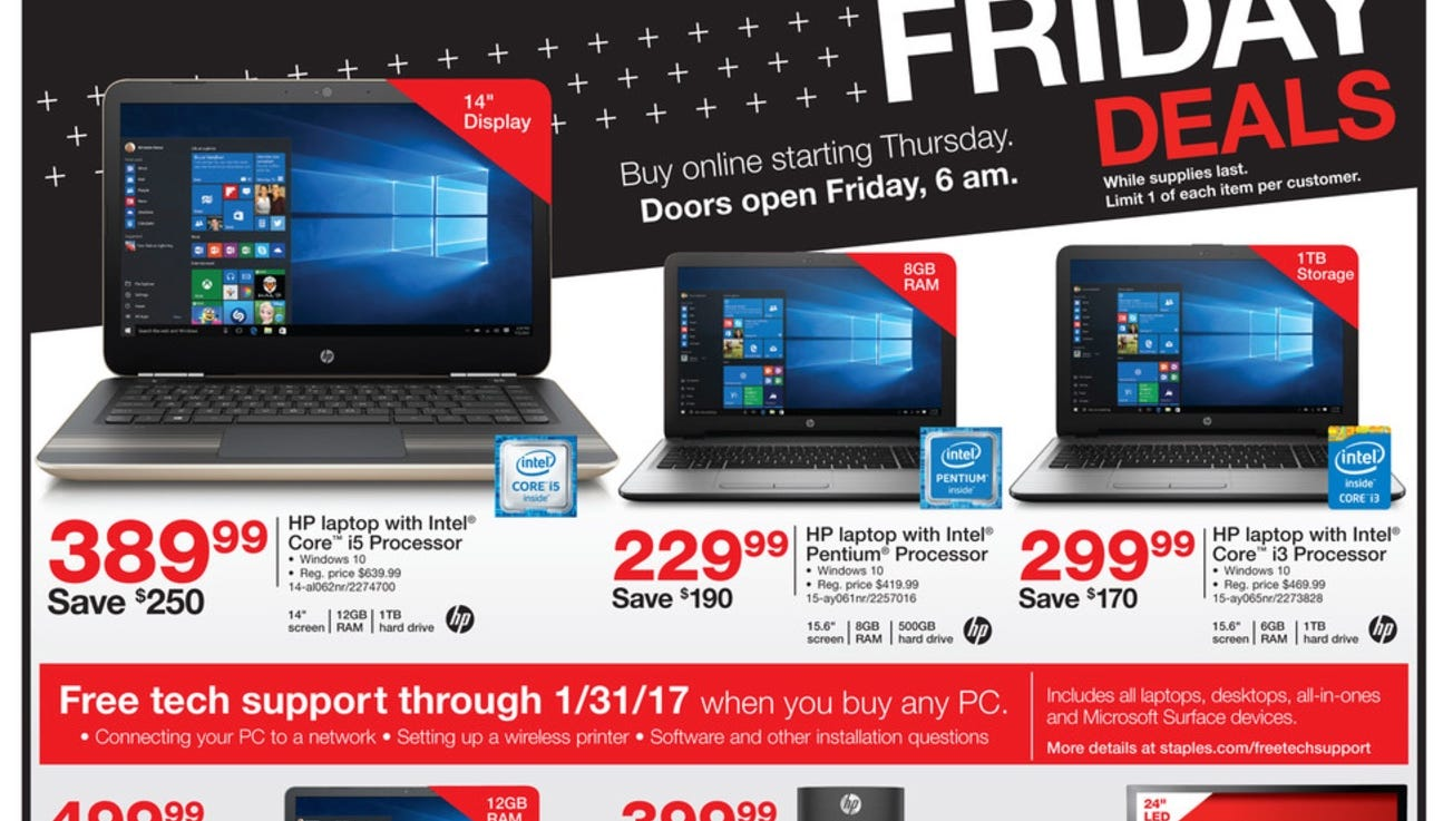 Costco Staples Preview Black Friday Tech Deals