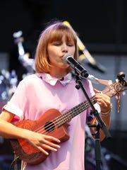 Grace VanderWaal performs Friday at the Ramapo Summer