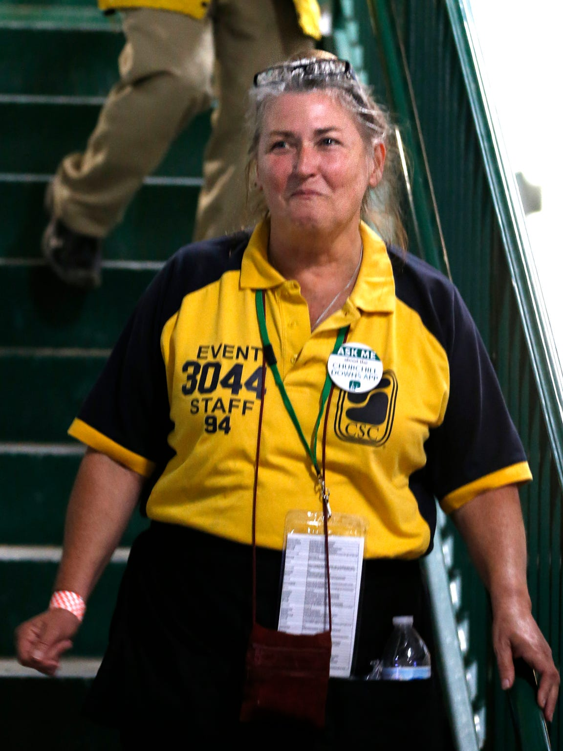 Pam Coats, 60, of Pleasure Ridge Park is for the first