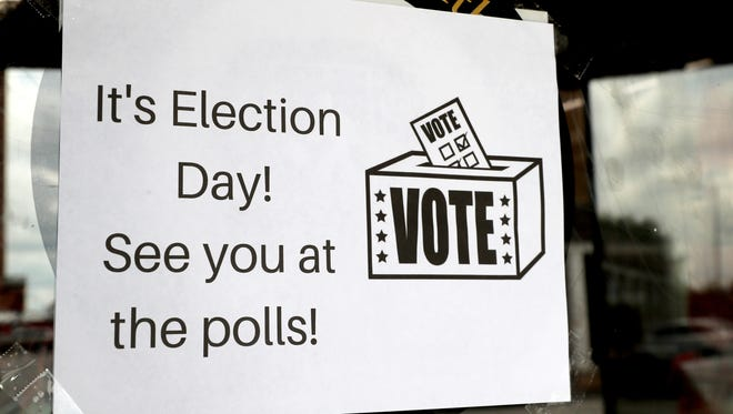 Election Day is Tuesday, Nov. 6.