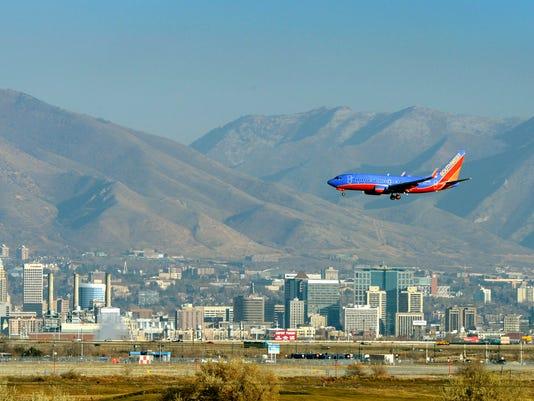 AP NEW AIRPORT SALT LAKE CITY A FILE USA UT