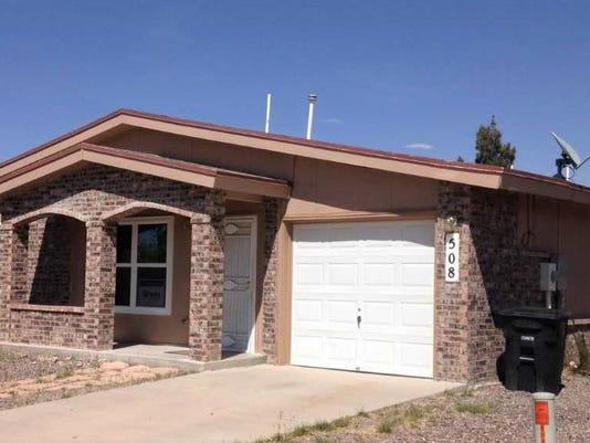 Habitat for Humanity El Paso Horizon City home