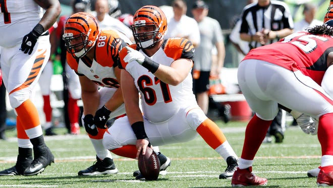 Bengals center Russell Bodine