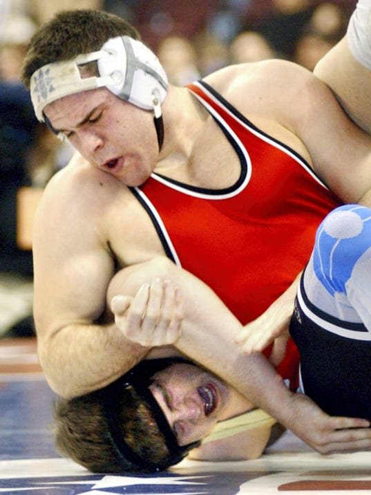 Susquehannock wrestler Adam LoPiccolo finished his high school career with a record of 142-7.