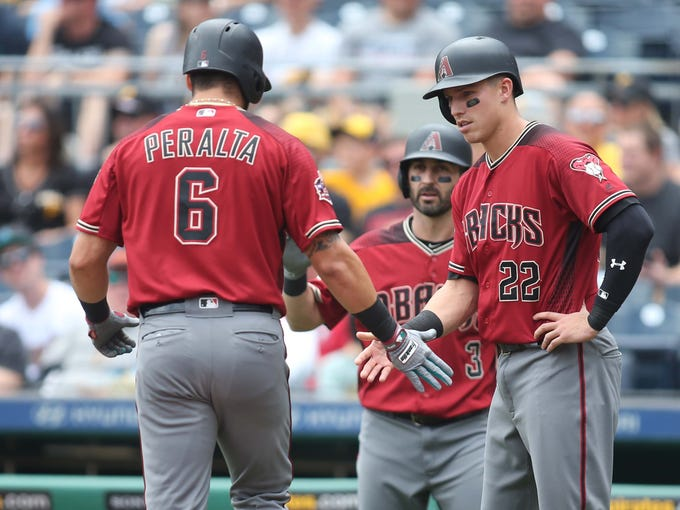 Jun 24, 2018: Arizona Diamondbacks third baseman Jake