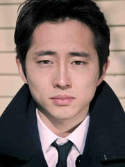 "Steven Yeun of ""The Walking Dead."""