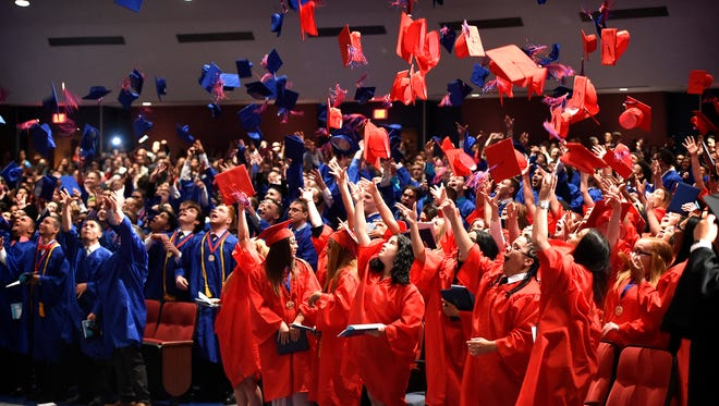 Lebanon High School held its 145th Annual Commencement Friday, June 2, 2017 in the school's auditorium. The class of 2017, with just over 250 graduates, was joined by the class of 1967 celebrating their 50th anniversary.