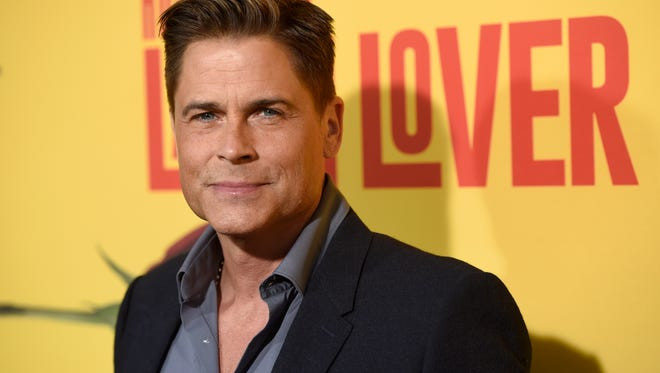 "In this April 26, 2017, file photo, Rob Lowe arrives at the Los Angeles premiere of ""How to Be a Latin Lover"" at the ArcLight Hollywood. Lowe told Entertainment Weekly in an interview published online June 27, 2017, that he feared death during an encounter with a bigfoot-like creature in the Ozark Mountains while shooting his upcoming A&E docuseries ""The Lowe Files."""