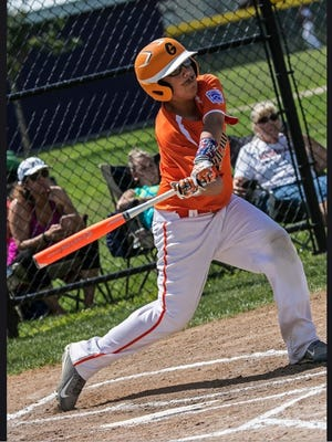 Helfrich Park Middle School eight-grader Brandon Juarez will participate in the Junior Home Run Derby National Finals on Saturday in Miami, Florida.