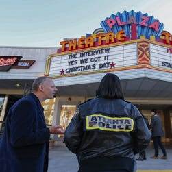 """""""The Interview"""" shown on Christmas Day in Atlanta."""