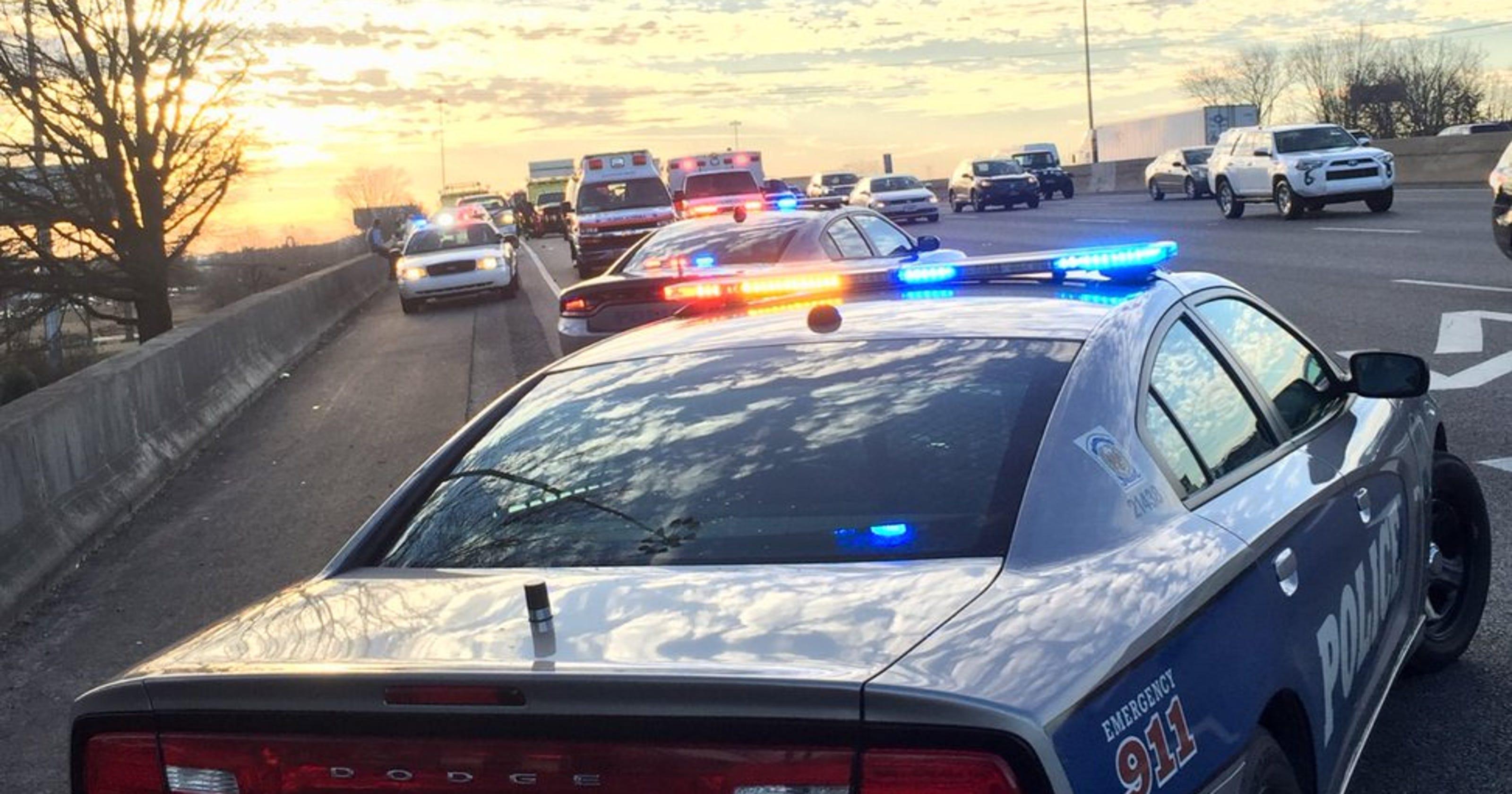 One dead following rush hour crash on I-40E