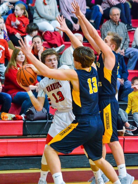 Littlestown vs Susquehannock boys' basketball
