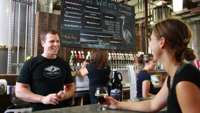 The Central Wisconsin Craft Collective and the Stevens Point Area Convention & Visitors Bureau are offering a quiz where people can find out which member of the collective, including  Central Waters Brewing Company in Amherst, matches up with their personality.