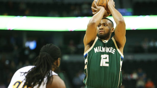 Bucks forward Jabari Parker finished with 27 points, 11 rebounds and four assists on Friday night in a loss to the Nuggets in Denver.