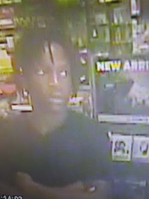 Police say Sept. 22, 2016, that this suspect is wanted in an armed robbery of two Nashville GameStops.