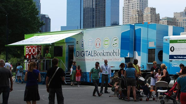 The OverDrive Digital Bookmobile.