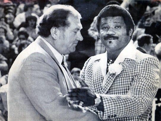 Don Haskins and Nolan Richardson.