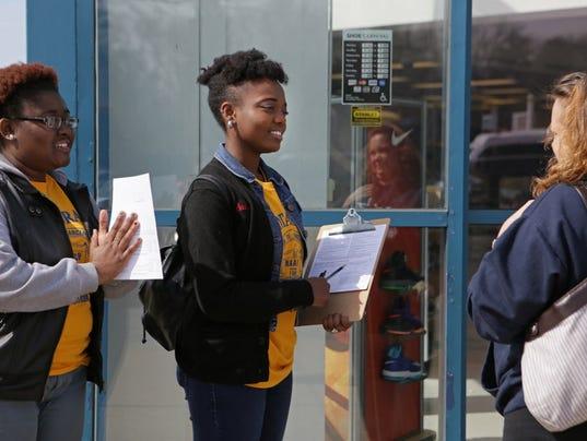 Outside groups making big push in ferguson election