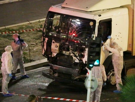 AP APTOPIX FRANCE TRUCK ATTACK I FRA