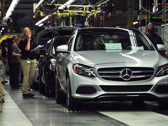 Mercedes benz invests 1 3b in alabama plant adds 300 jobs for Mercedes benz tuscaloosa alabama