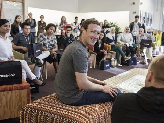 Mark Zuckerberg Tour America