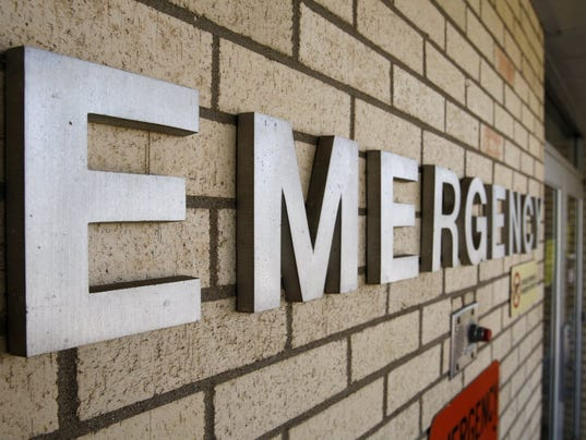 An injured nurse confronts emergency room chaos: Column