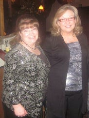 Dianne Look (left) and Karen Barclay worked with Naly