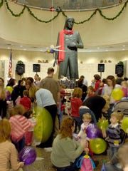 Noon Year's Eve Celebration, Dec. 30 | Harrisburg: Young children and their families are invited to welcome the new year from 10 a.m. to 2 p.m. Dec. 30 at the State Museum of PA, 300 North St. Families can also take in a seasonal planetarium show, make a craft, enjoy a snack, dance, and listen to storytime. The famous firefly and balloon drop will be in Memorial Hall at noon. This family-friendly event is free with museum admission and no reservations are required. For details, visit statemuseumpa.org.