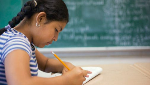 When your child writes something, resist the urge to correct it, one expert suggests.