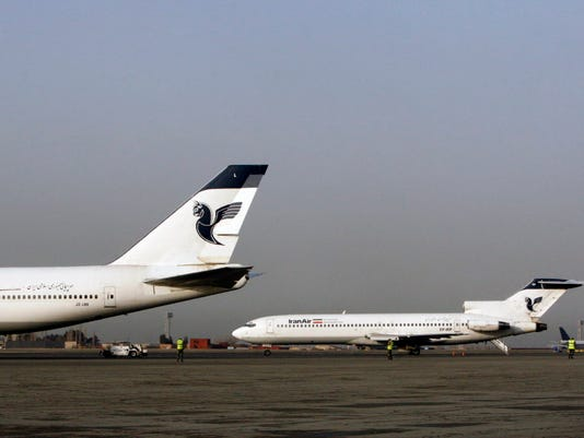AP MIDEAST IRAN NEW AIRPLANES I IRN