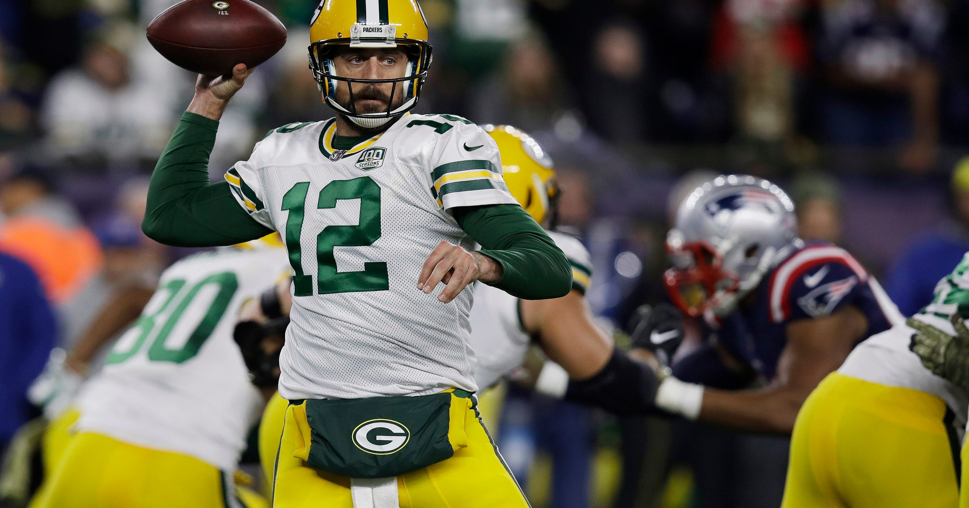 a5a6286f617 Column: Brady already was the GOAT before beating Rodgers