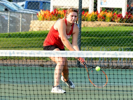Pacelli singles player Alliey Krusa will make her third straight state tournament appearance.