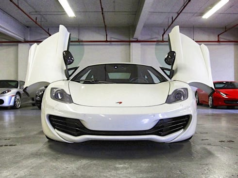 Gotham Dream Cars is one of several companies offering exotic rentals.
