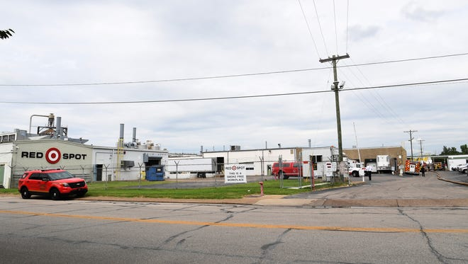 Emergency personnel were called for a reported fire at Red Spot Paint and Varnish Company in Evansville Monday afternoon.