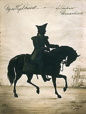 Portrait of Col. Maxwell by Frederick Chapman, 1781, Harlem, NY.