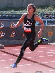 MKA graduate Laura Placentra running in Wall Street