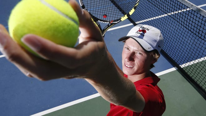 Leon junior Will Stone, the 2015 All-Big Bend Player of the Year for boys tennis